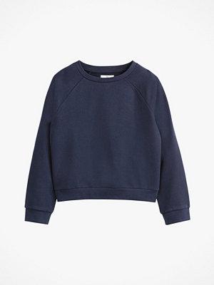 La Redoute Kort, enfärgad sweatshirt i bomull