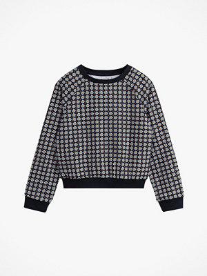 La Redoute Blommig sweatshirt med raglanärm