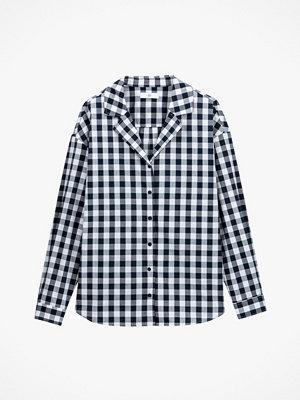 La Redoute Smårutig skjorta med krage