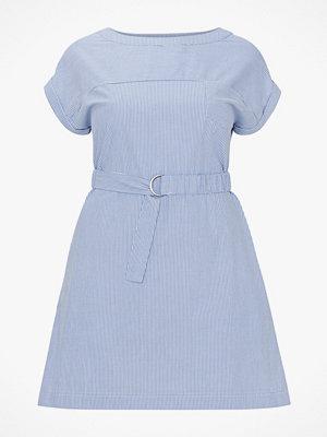 La Redoute Rak, halvlång klänning med smalrandigt mönster