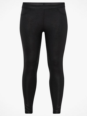 Zizzi Leggings, reprilmönstrade