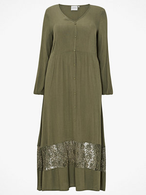 Junarose Maxiklänning jrMartha LS Ancle Dress