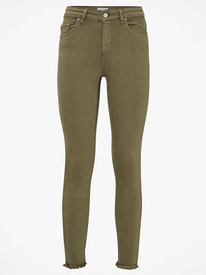 Only Byxor onlBlush Mid Skinny Ankle Raw Colour omönstrade