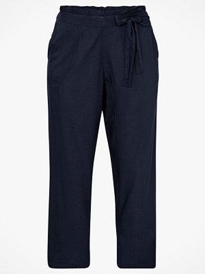 La Redoute marinblå byxor Vid byxa med hög midja
