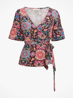 Odd Molly Topp Flower Wrap Top