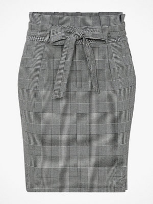 Vero Moda Kjol vmEva HR Paperbag Short Check Skirt