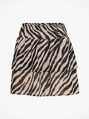 Kjolar - Only Volangkjol onlStar Chiffon Mini Skirt