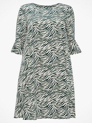 La Redoute Djurmönstrad klänning i halvlång, utställd modell