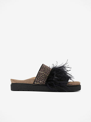 INUIKII Slippers Feathers Studs