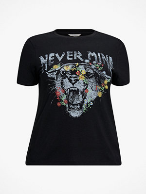 Only Carmakoma Topp carNever Mind SS Tee