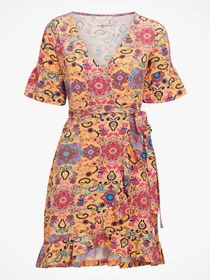 Odd Molly Omlottklänning Flower Wrap Dress