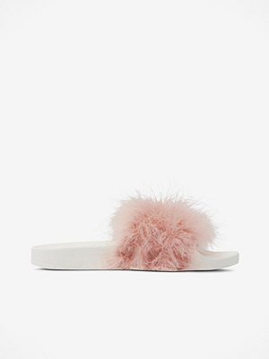 The White Brand Slippers Feather