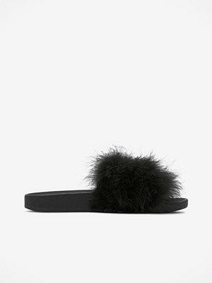 Sandaler & sandaletter - The White Brand Slippers Feather