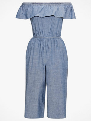 Vero Moda Jumpsuit vmEmilia Ruffle Drop Chambray Jumps