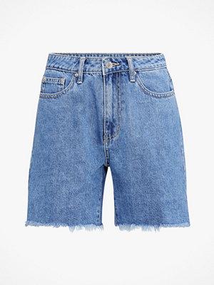 Shorts & kortbyxor - Vero Moda Jeansshorts vmJoana Hr Mom Long Shorts