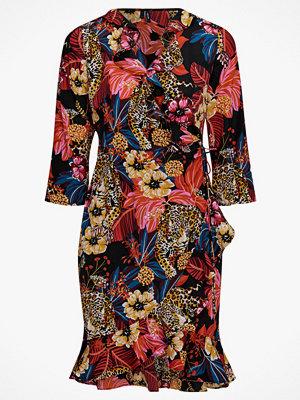 Vero Moda Omlottklänning vmAmsterdam Henna 3/4 Wrap Dress