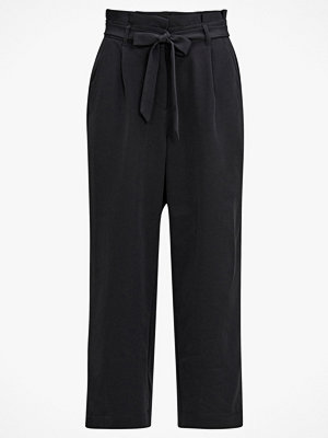 Vero Moda Culottebyxor vmCoco Hw Culotte Paperbag Pants svarta