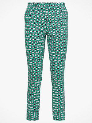 La Redoute mönstrade byxor Smal byxa med grafiskt mönster