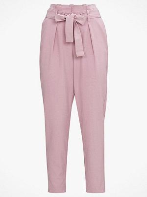 Only Byxor onlNicole Paperbag Ankel Pants omönstrade