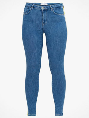 Only Carmakoma Stretchjeans carWauw Reg Push Up Denim