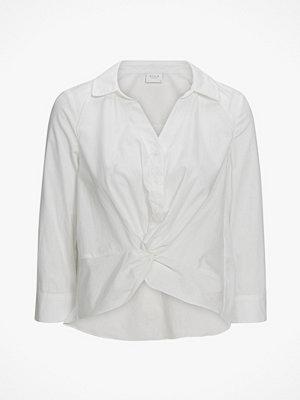Vila Blus viValina Cropped Shirt