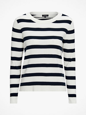 Selected Femme Tröja slfAlina Stripe LS Knit O-neck