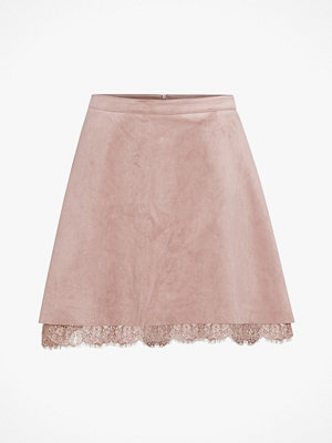 Only Kjol onlCaitlyn Faux Suede Skirt