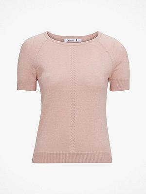 Tröjor - La Redoute Finstickad tröja med kort ärm