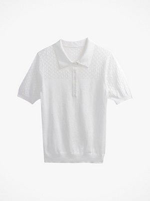 Tröjor - La Redoute Finstickad tröja med krage