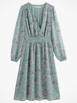 La Redoute Blommig, halvlång omlottklänning