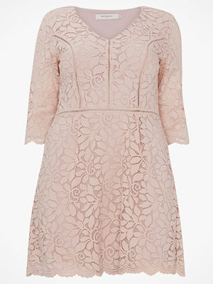 Only Carmakoma Spetsklänning carSamant 3/4 Lace Dress