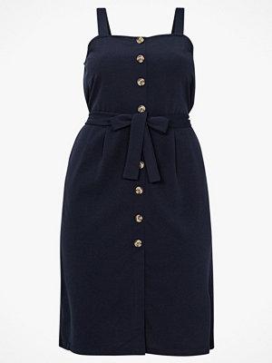 Vero Moda Curve Klänning vmMille SL Button Dress