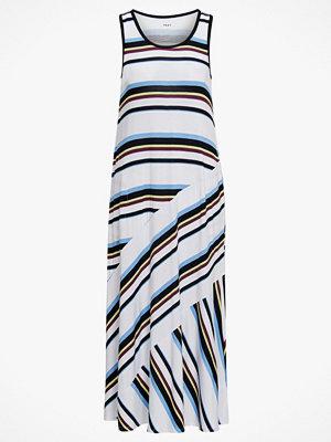 DKNY Klänning Earn Your Stripe Maxi Chemise