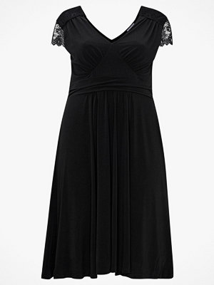 Anna Field Klänning Jersey Midi Lace Dress