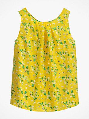 La Redoute Blommigt linne med V-ringning bak