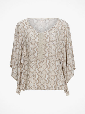 Cream Blus Allie
