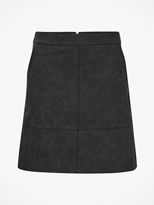 Only Kjol onyNima Faux Leather Skirt