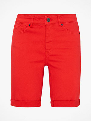Shorts & kortbyxor - Vero Moda Jeansshorts vmHot Seven MR Folding Long Shorts
