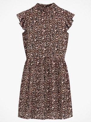 La Redoute Blommig klänning med volangärm