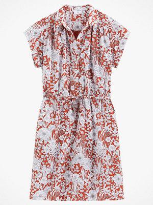 La Redoute Blommig skjortklänning med kort ärm