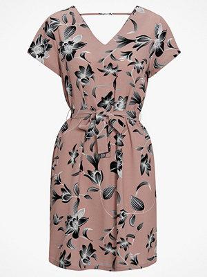 Only Klänning onlNova Lux Deep V S/S Dress