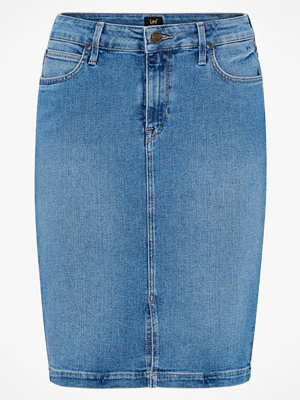 Lee Jeanskjol Pencil Slit Skirt