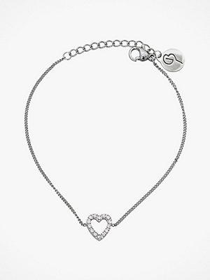 Edblad smycke Armband Glow Heart Bracelet Steel