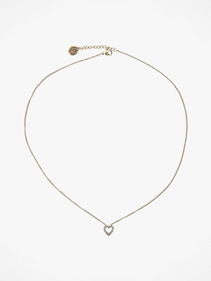 Edblad smycke Halsband Glow Heart Necklace Gold