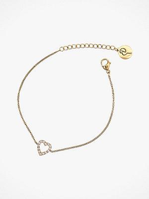 Edblad smycke Armband Glow Heart Bracelet Gold