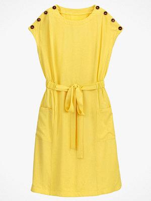 La Redoute Vid, halvlång klänning med kort ärm