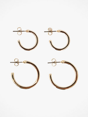 Pieces smycke Örhängen pcChristine Hoop Set