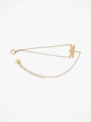 Edblad smycke Armband Dragonfly Bracelet Sparkle Gold