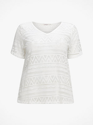 Only Carmakoma Topp carGreen S/S Top V-neck