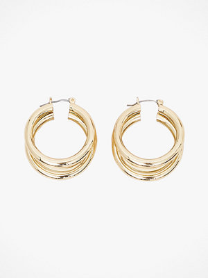 Pieces smycke Örhängen pcElaina Hoop Earrings